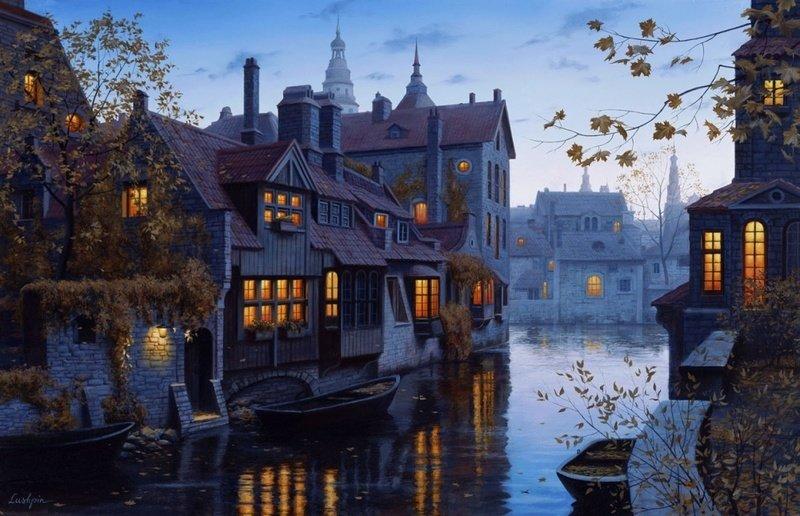Autumn Evening in Brugge
