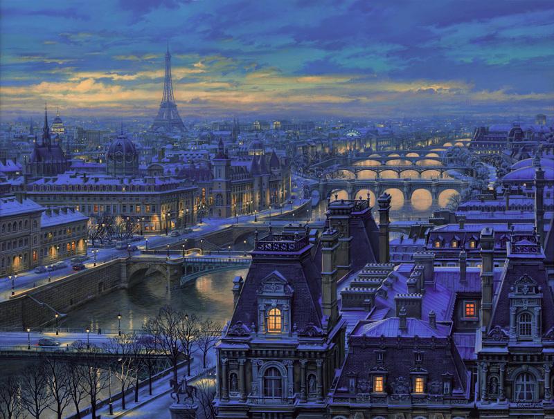 Spanning the Seine